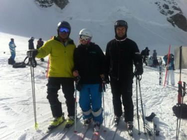 Esquiar en Octubre, hoy Zermatt. Entrevistamos a Reyes Santa Olalla.