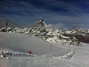 Ski Paradise esquiando Zermatt