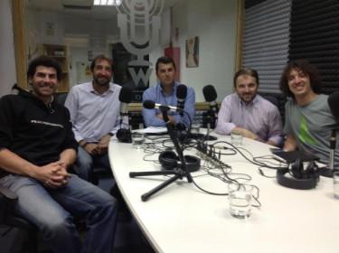 Sergi Gasa, Toni Garcia, Juan Castro, Iván Besson, Luis Bernabéu en