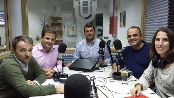 Iván Besson, Nacho Ferrer, Juan Castro, Raúl Revuelta e Isabel Esparza i Bofill