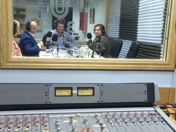 Jorge Grande, Juan Castro y Blanca Fernandez Ochoa