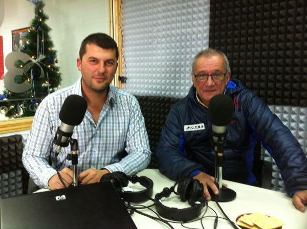 Juan Castro y Manolo Salvadores en Radio3W