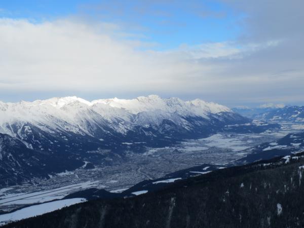Vistas de Innsbruck desde la estación de Axamer Lizum