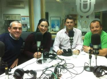 Victor, Pepa, Juan y David