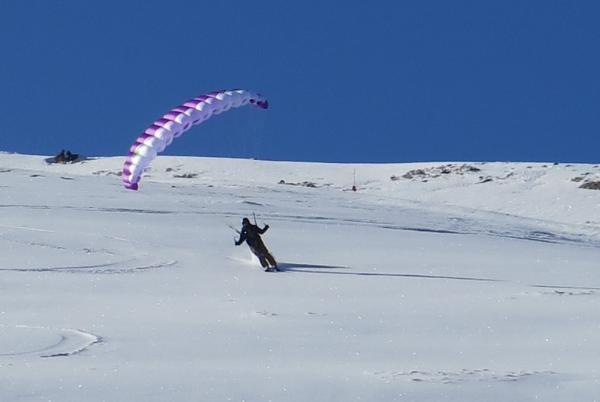 Speedriding Tamdem Team