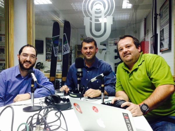 Marcos Castañon, Juan Castro y David Gomez