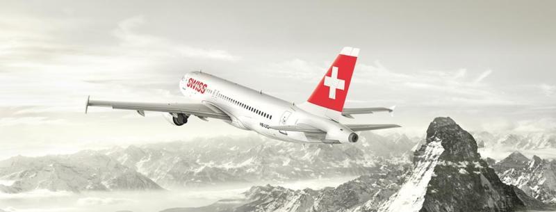 SWISS ofrece más de 120 vuelos semanales entre España y Suiza